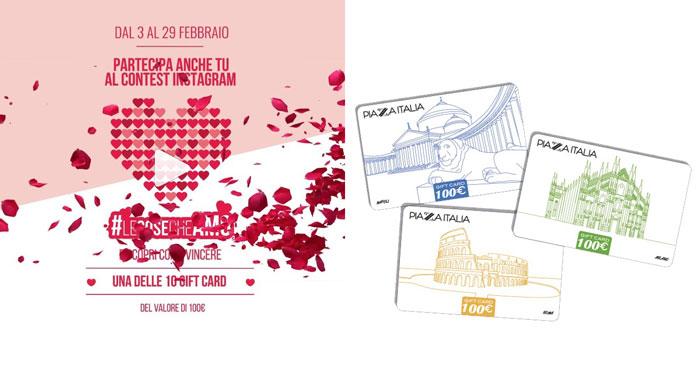 Contest Piazza Italia per San Valentino