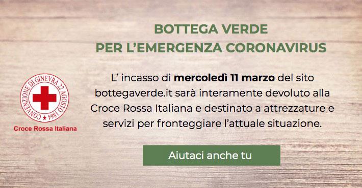 Bottega Verde per la Croce Rossa Italiana