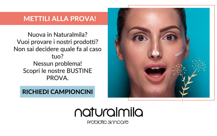 Campioni omaggio Naturalmila Probiotic Skincare