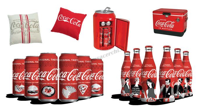 """Coca-Cola """"Il gusto che unisce"""""""
