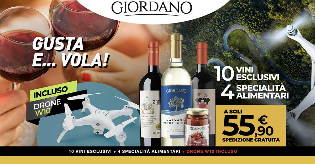 Giordano Vini offerta drone