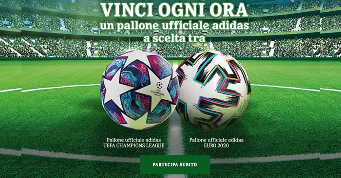 "Heineken ""Vinci ogni ora"": in palio palloni Adidas"