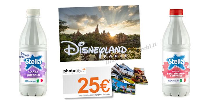 Latte Stella: vinci weekend a Disneyland Paris