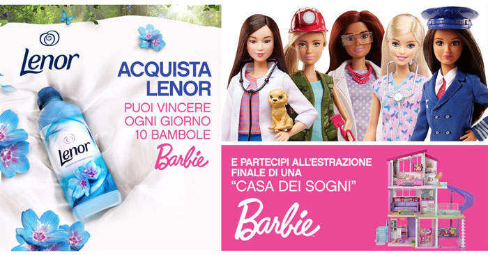 Lenor Win: vinci bambole Barbie