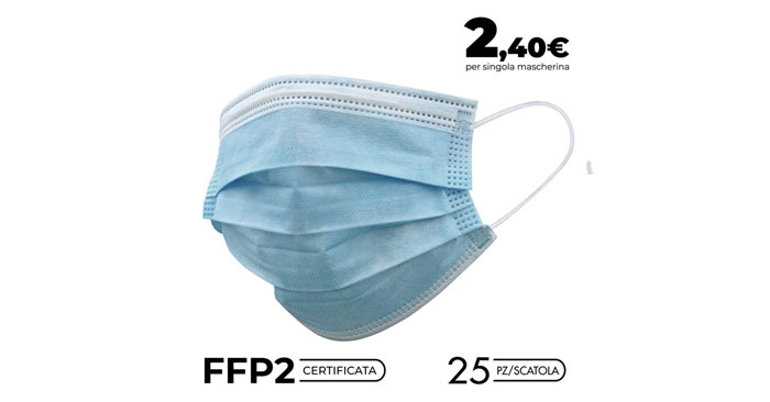 Mascherine certificate FFP2 online