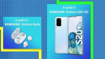 Tim Party: vinci SAMSUNG Galaxy S20+ 5G