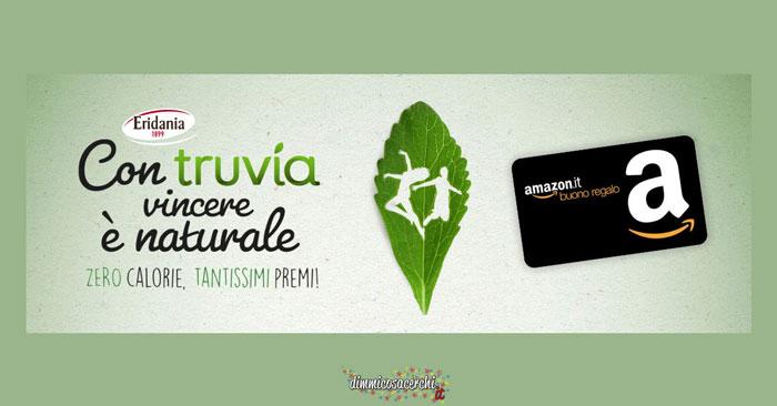Truvia: vinci gratis buoni Amazon