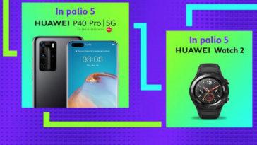 Con TIM Party puoi vincere subito il meglio di Huawei