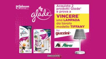 Glade: vinci lampada Tiffany Guzzini
