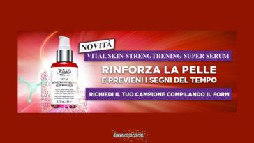 Kiehl's Vital Skin-Strenghtening Super serum: campione omaggio
