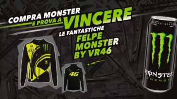 Monster: vinci la felpa