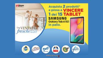 Vinci tablet con SC Johnson