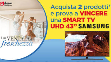 Vinci una TV con SC Johnson
