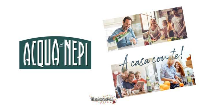 Acqua di Nepi: vinci 100€ da spendere online