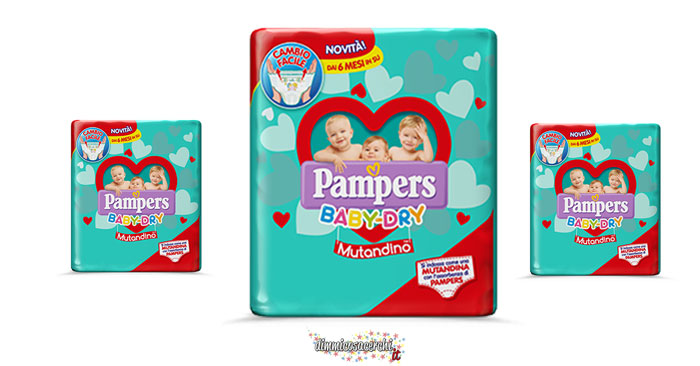 Campione omaggio Pampers