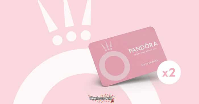 Carta fedeltà Pandora