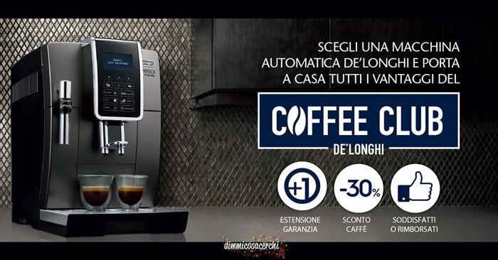 Coffee Club De Longhi