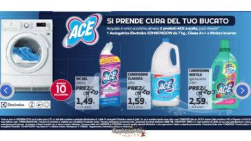 Concorso Ace: vinci asciugatrice Electrolux