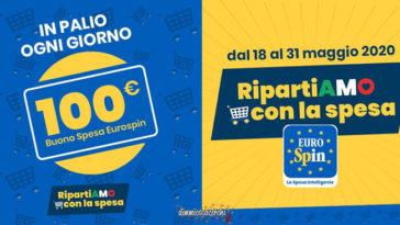 """Eurospin: """"RipartiAMO con la spesa"""""""