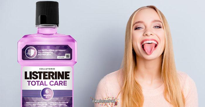 Listerine ti regala una visita dentistica