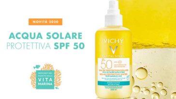 Acqua Solare Protettiva SPF50 Idratante Vichy : diventa tester