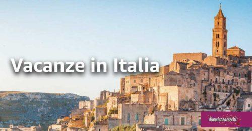 """Amazon """"Vacanze in italia"""""""