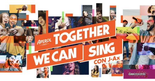 """Aperol """"Together we can sing"""""""