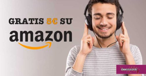 Audible ti regala 5€ su Amazon.it