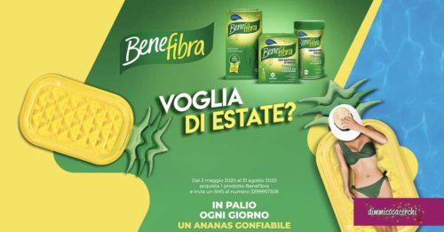 Benefibra: vinci ananas gonfiabile