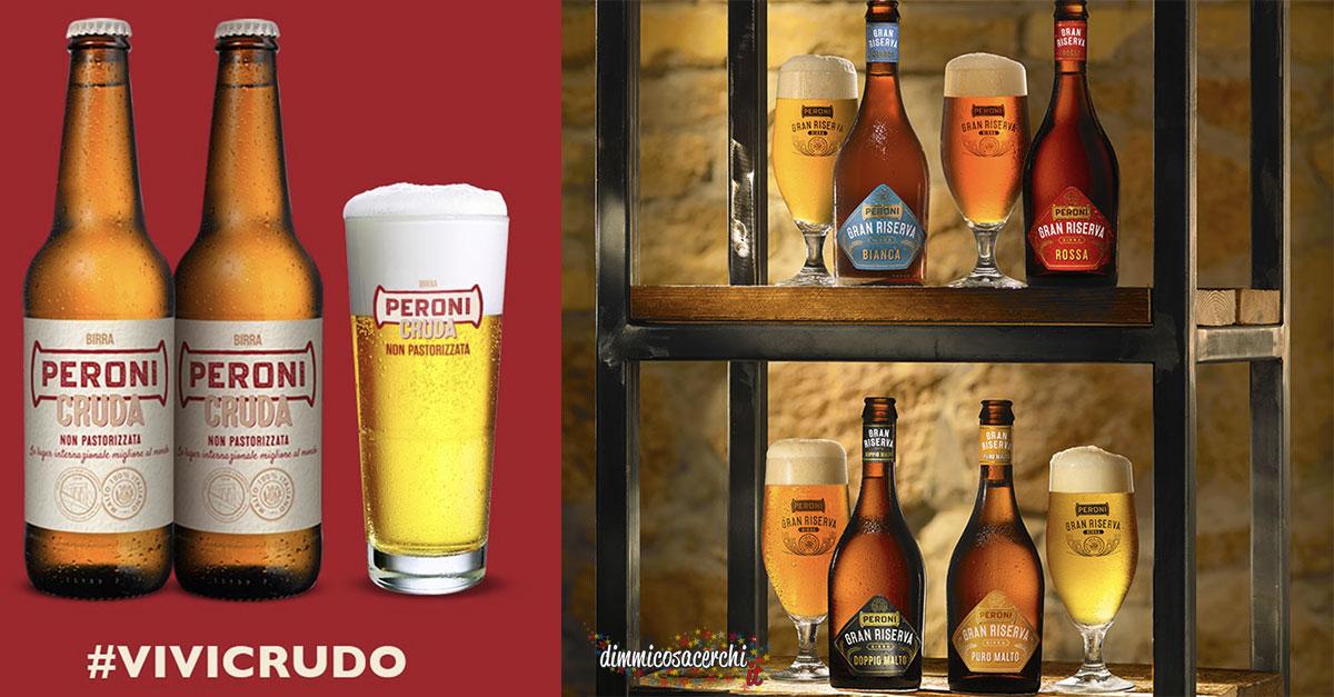 Bicchieri birra Peroni omaggio