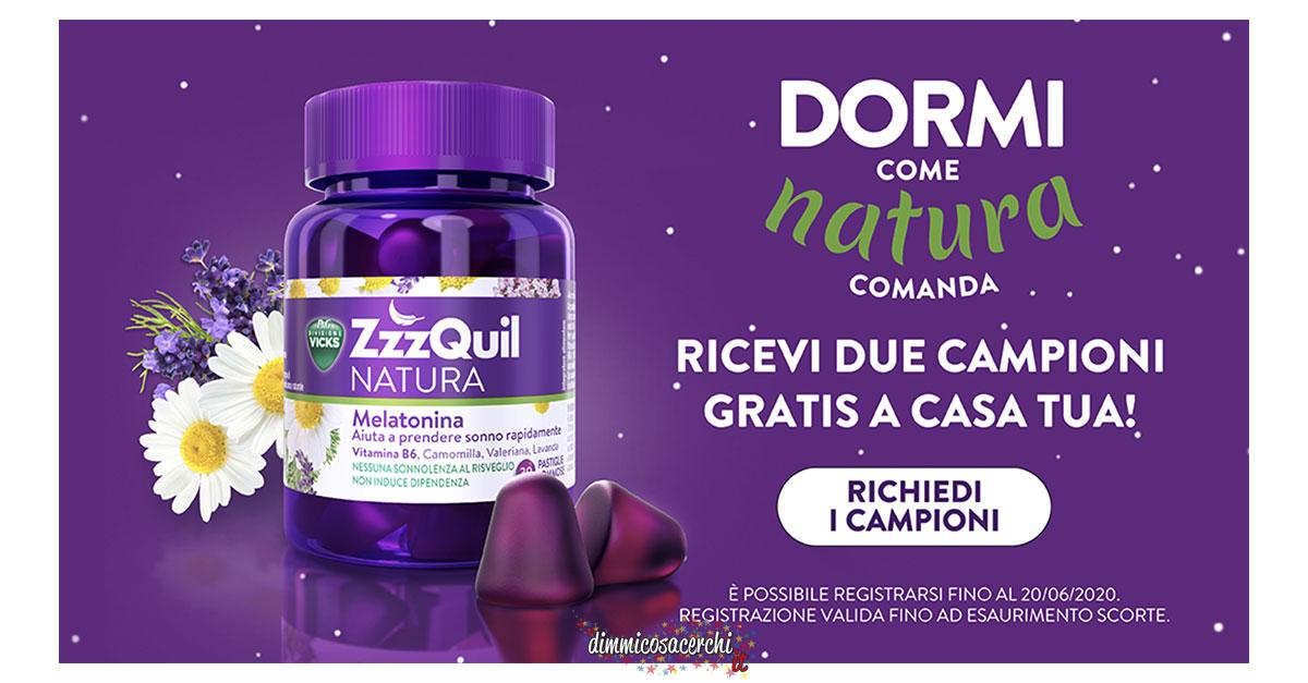 Campioni omaggio ZZZquil