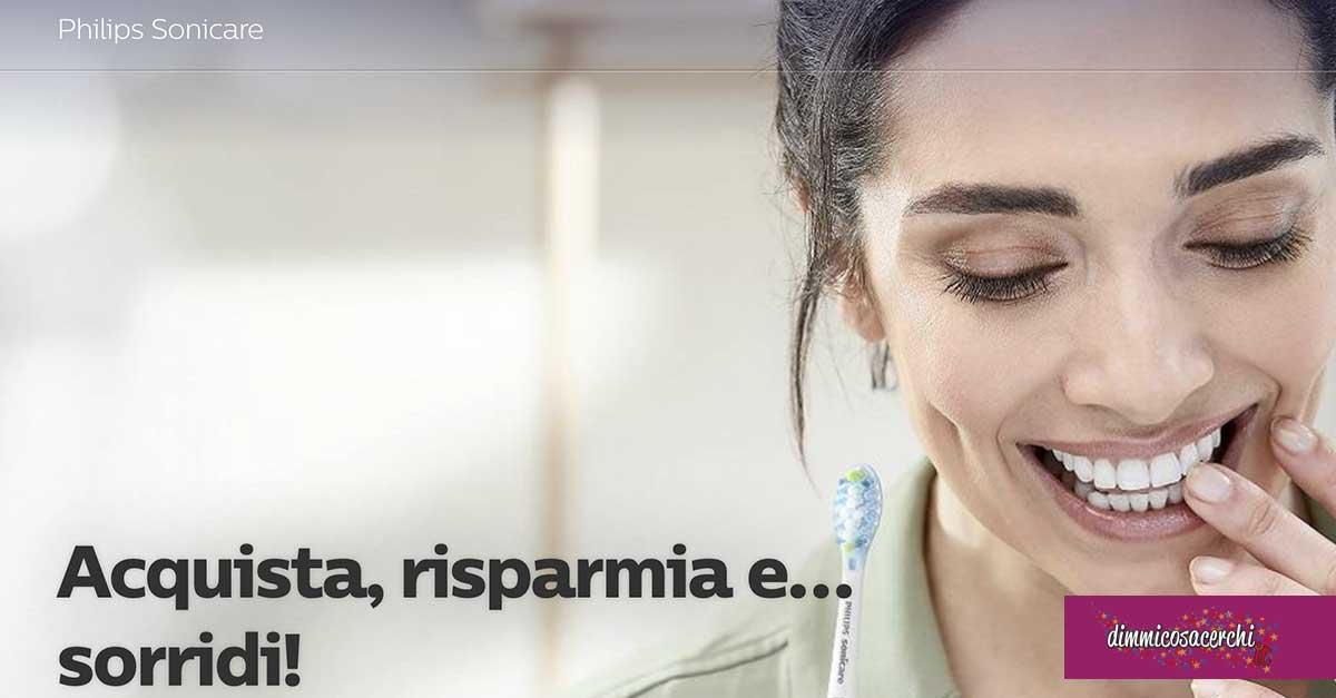 """Cashback Philips Sonicare """"Acquista, risparmia, sorridi"""""""