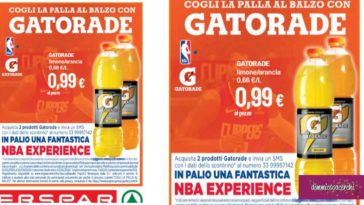 Vinci NBA Experience con Gatorade