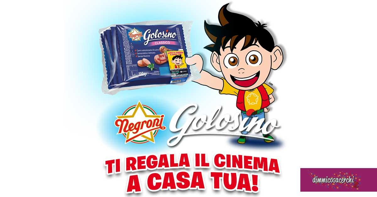 Golosino Negroni: vinci un anno di cinema a casa tua