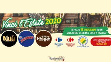 Maxibon: vinci l'estate 2020