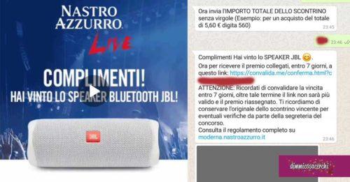 """Concorso """"Nastro Azzurro live - in Moderna"""""""