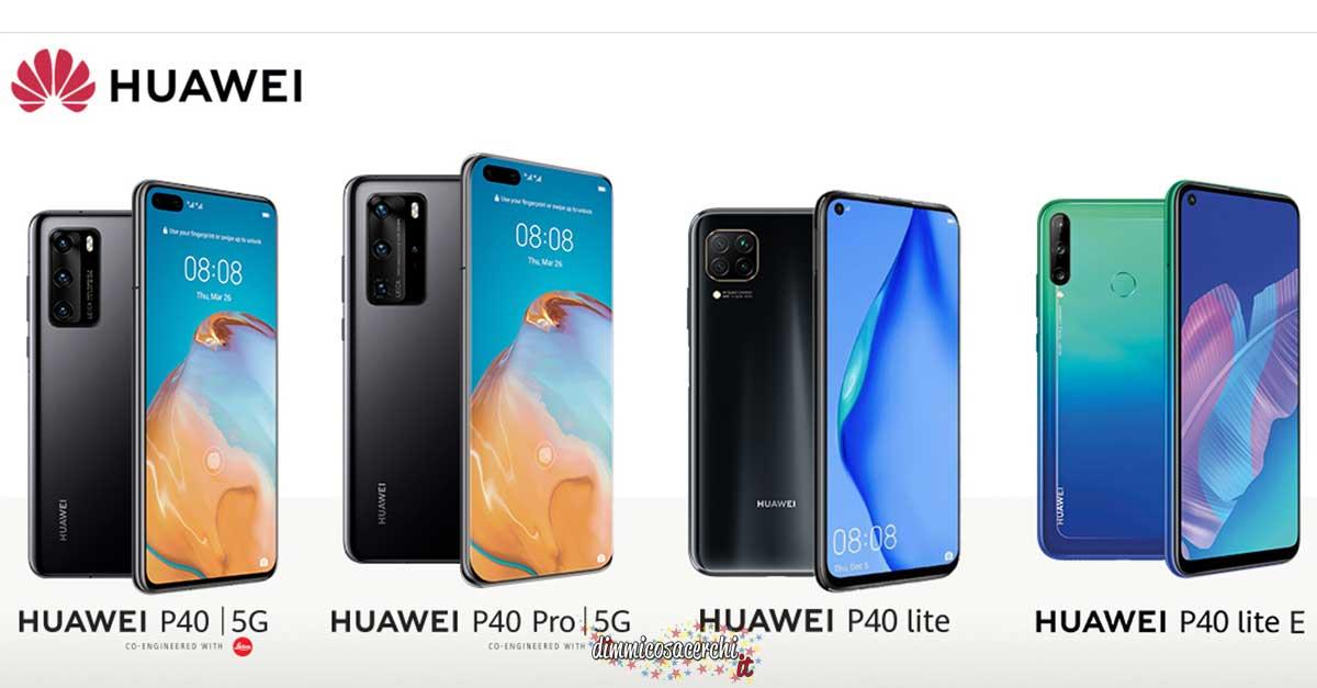 Diventa tester Huawei P40 Series