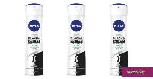 NIVEA Black & White Invisible: vinci Voucher Privalia