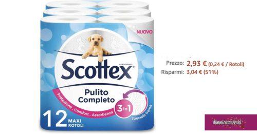 offerta scottex pulito completo