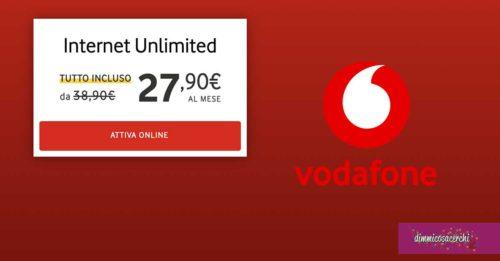 Vodafone: offerta fibra e ADSL