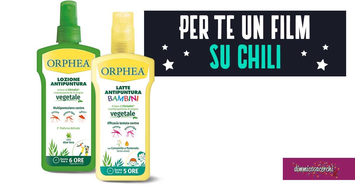 """""""Orphea regala il cinema"""": premio certo"""