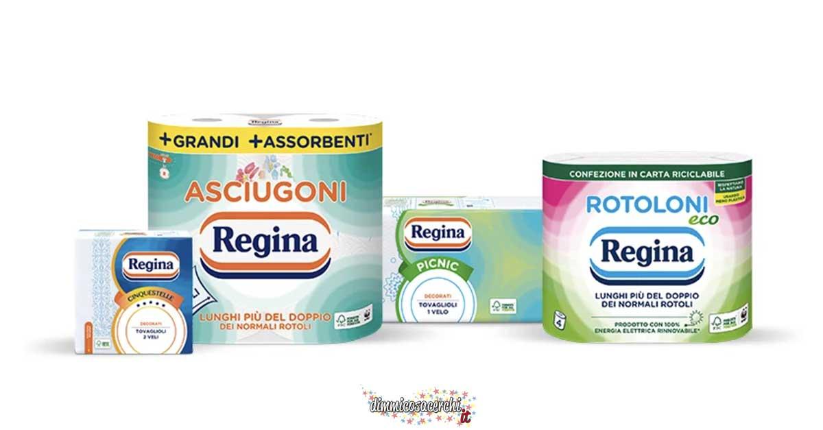 Prodotti Regina scontatissimi: fai il pieno di risparmio