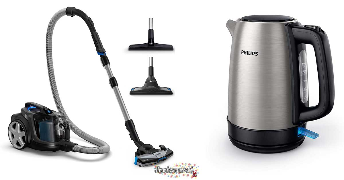 Philips e Amazon: 50€ di sconto