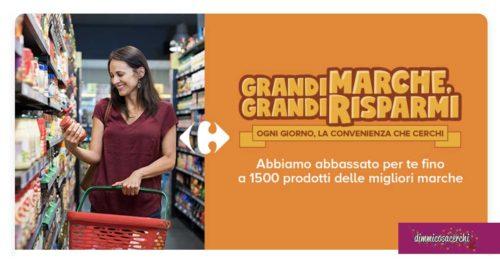 Carrefour: grandi marche, grandi risparmi