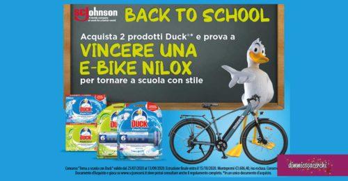 """Concorso """"Torna a scuola con Duck"""""""