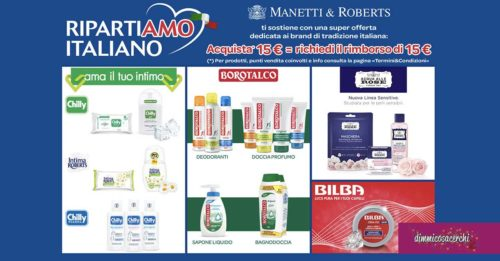 """Manetti e Roberts """"Ripartiamo Italiano"""""""