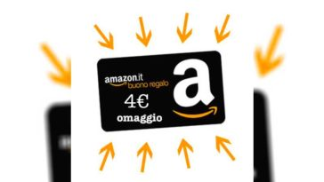 Offerta prova buono regalo Amazon