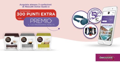 Promozione Bennet-Dolce Gusto: 300 punti extra