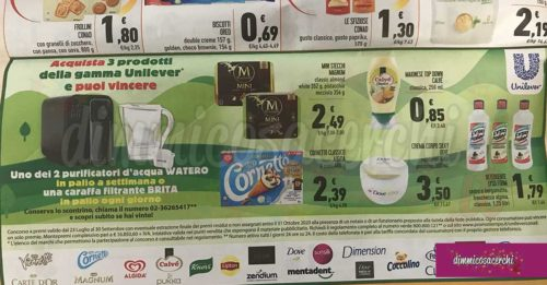 Unilever: vinci purificatori Watero