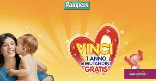 Vinci un anno di mutandini con Pampers